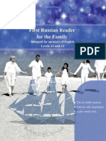First Russian Reader for the Family Bilingual for Speakers of English Beginner Elementary (A1 A2)