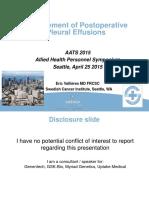 Vallieres Pleural Effusions AATS