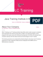 Core Java Training in Marathahalli, Bangalore