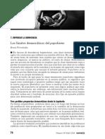 B.Fernández - Los Límites Democráticos Del Populismo