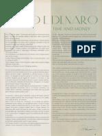 Piero Cammerinesi - Tempo e Denaro - Time and Money - Luxury Files, Dec 2005