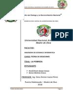 Teoria de Desiciones - Monografia