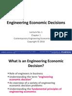 Ch 1 Engineering Economic Decisions