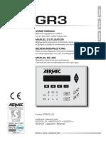 Aermec GR 3 User Manual Eng