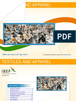Indiann Textile and Apparel Industry