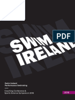 Swim Ireland Performance Coaching Conference 2018