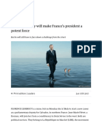 Electoral victory will make France's president a potent force.pdf
