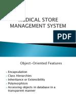 Medical Store management