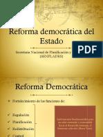 2. Reforma Democrática Del Estado