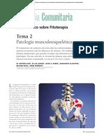 Patología musculoesquelética