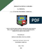APLICACIÓN DE RIEGO DEFICITARIO DE SECADO PARCIAL DE LA ZONA DE RAICES EN EL CULTIVO DE DURAZNO, MEDIANTE EL RIEGO POR GOTEO.pdf