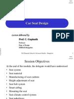 Designspecificationsandergonomicevaluationofcarseat Pdf Human
