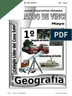 2. Mayo– Geografía - 1ero