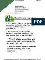 Electricidad y Magnetismos