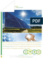 Solar - Bhanu Solar - Company Profile