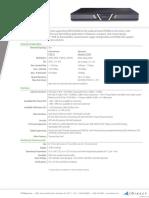 IDirect Spec Sheet X7
