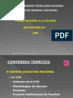 Sistema Universitario 2015