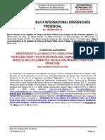 Bases de Licitacion Publica 18578019-515-12 Medidores de Flujo Masico
