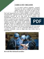Donarea de Organe