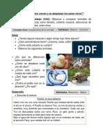 2 UNIDAD DE CIENCIAS NATURALES 1 BASICO