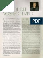 Piero Cammerinesi - Un Eroe Del Nostro Tempo - A Hero of Our Times - Luxury Files, July 2006