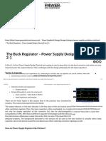 03 - The Buck Regulator – Power Supply Design Tutorial Part 2-1.pdf