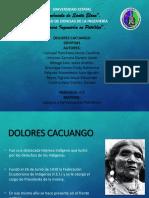 Dolores Cacuango