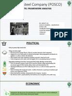 Posco- Pestel (Group h2)