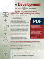World Bank Apps Brochure