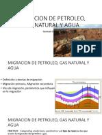 MIGRACION DE GAS NATURAL Y AGUA