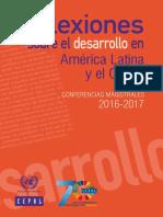 Reflexiones Sobre El Desarrollo en América Latina y El Caribe