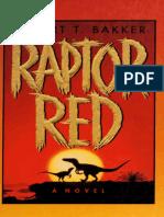 Raptor Red by Robert T Bakker
