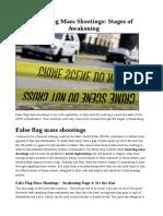 False Flag Mass Shootings