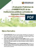 Guia de Evaluacion Preliminar de Logros Ambientales- Diagnostico 2018