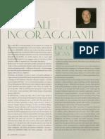 Piero Cammerinesi - Segnali Incoraggianti - Encouraging Signs - Luxury Files, December 2007