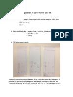 Preparation of Paracetamol Post Lab