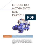Estudo Do Movimento Das Partículas