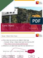 OpenSAP Java1 Week 5 Unit 2 ObjectDataTypes