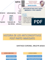 Seminario#2 Metodos Anticonceptivos Puerperio Inmediato y Post Aborto