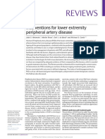 Interventions for Lower Extremity Peripheral Artery Disease