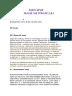 LP- OT 1673- TAREA IV de Psicologia Del Niño de 3 a 6- Rosanna Mercedes