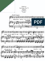 Six Songs, Op 75 mignon - Beethoven.pdf