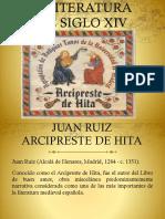 Clase La Literatura Del Siglo Xiv Juan Ruiz