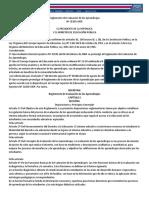 Reglamento de Evaluación de Los Aprendizajes Vigente