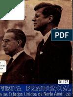 Visita presidencial Kennedy- Paz Estenssoro