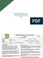Planificacion-Anual Matematicas 9º EGB BRAYAN LL