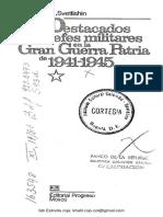 Svetlishin n. Destacados Jedes Militares en La Gran Guerra Patria de 1941-1945