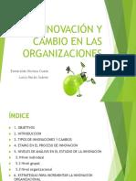INNOVACIÓN Y CAMBIO EN LAS ORGANIZACIONES.Aula 22.Grado.ppt