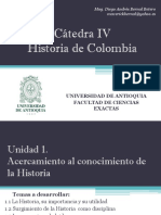 Unidad 1 Acercamiento al conocimiento de la Historia