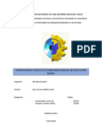 Implementacion de un microprocesador basico en Proteus